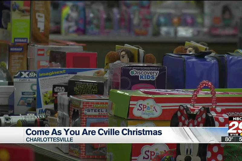 Come As You Are Cville opens Christmas Giveaway registration