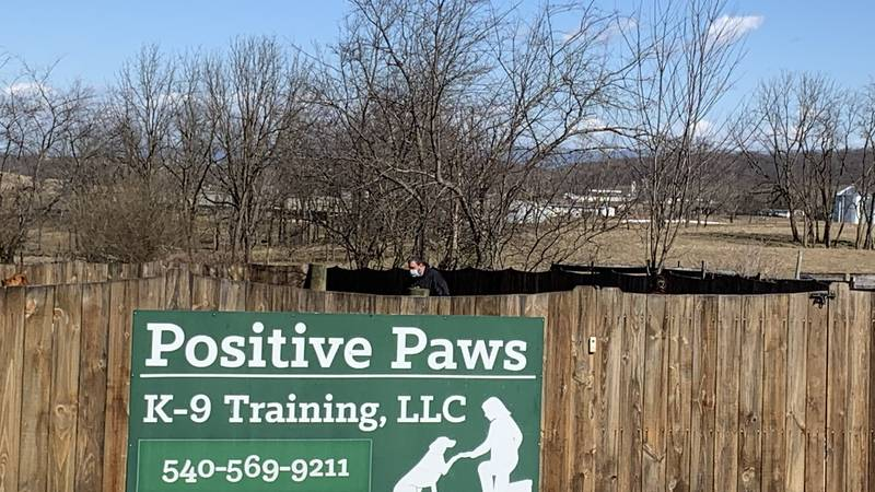 Positive Paws K-9 Angels is located in Augusta County.