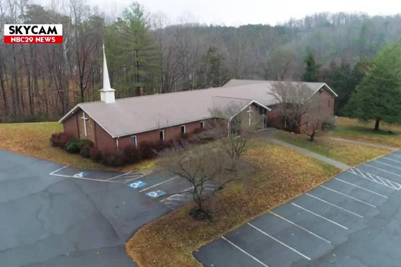 NBC29 Skycam Monticello Wesleyan Church