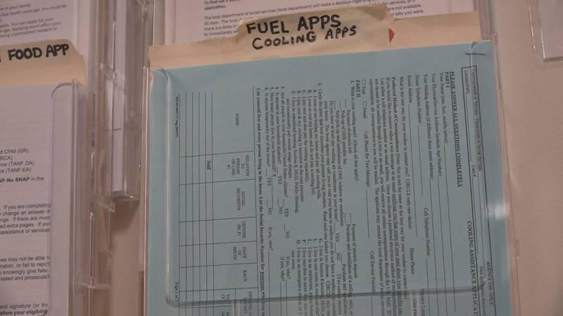 Shenandoah Valley Social Services application for cooling assistance