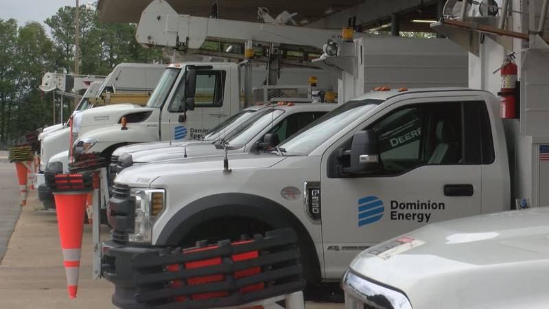 The power company making sure all available crews are ready to respond to outages and repairs,...