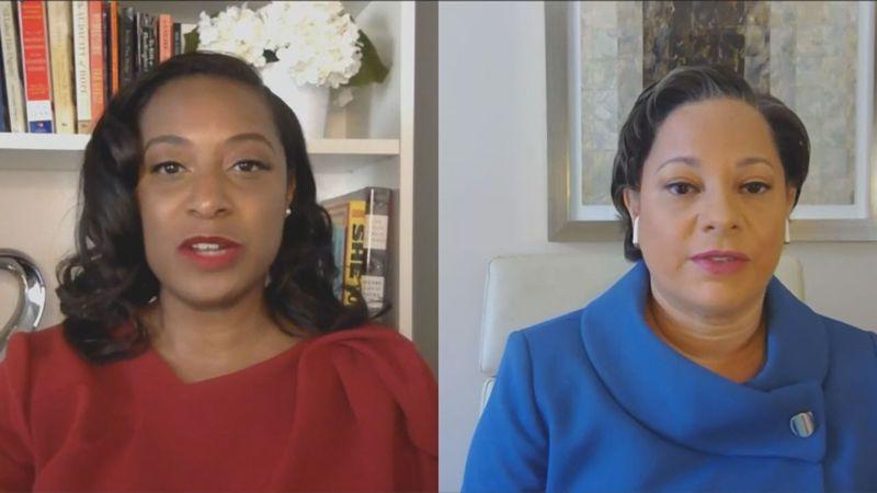 Virginia Gubernatorial candidates Jennifer Carroll Foy (left) and Jennifer McClellan (right)