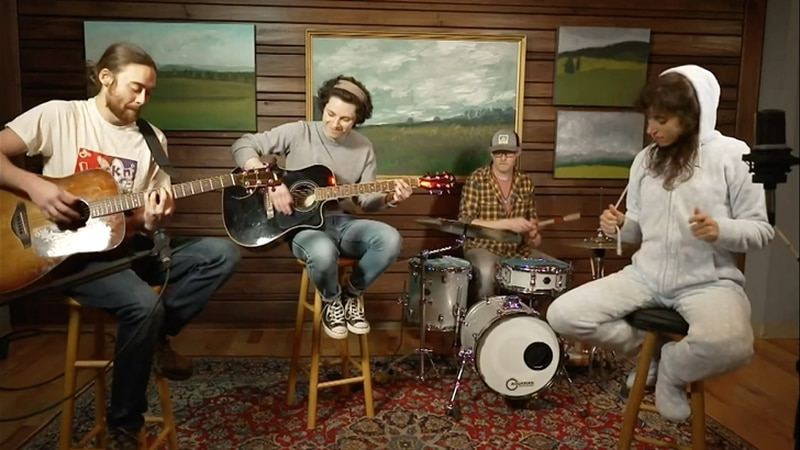 """The Front Porch hosts digital """"Save the Music"""" concert series."""