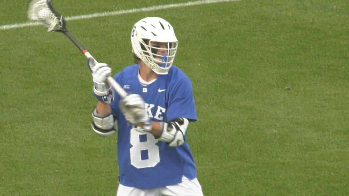 St. Anne's-Belfield alum Joe Robertson scored the game-winning goal in overtime for Duke.