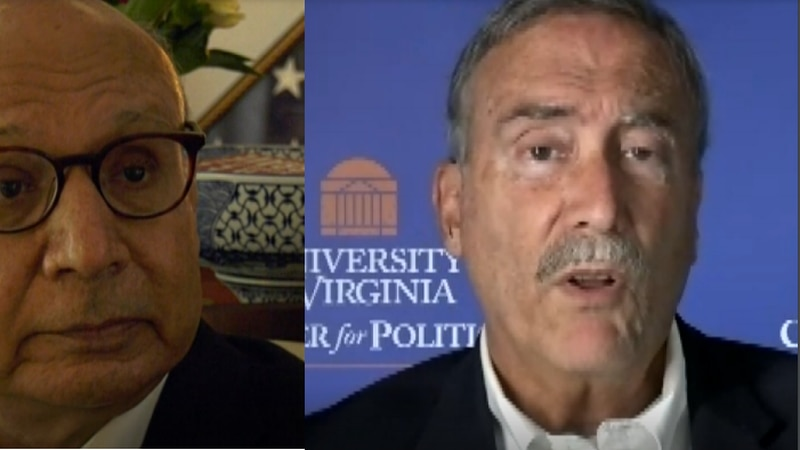 Khizr Khan and Larry Sabato react to turmoil in Afghanistan.