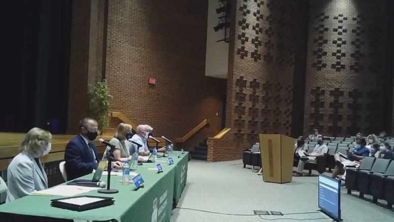Rockingham County school board meeting 8/23/21