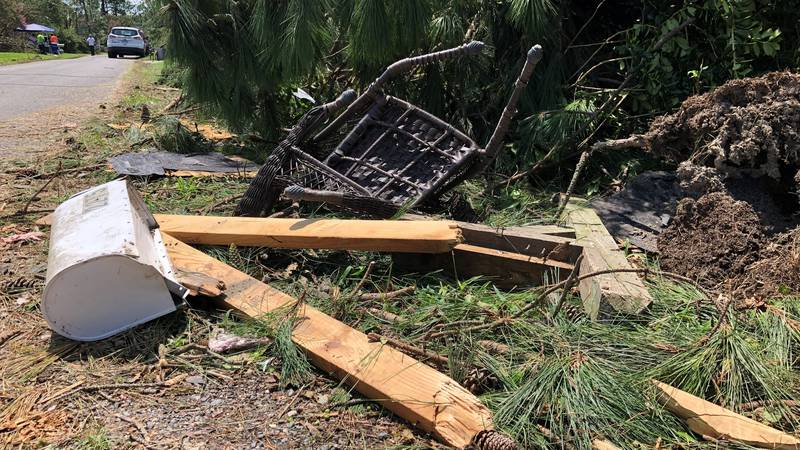 Isaias left damage across the Northern Neck of Virginia