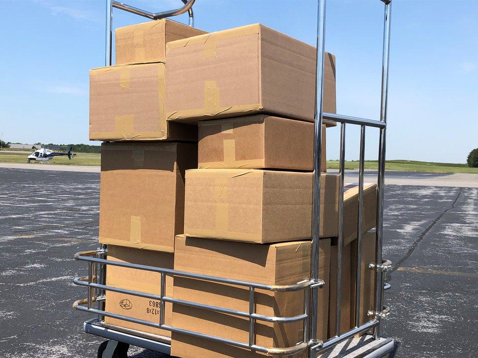 Packages meant for John Randolph Medical Center