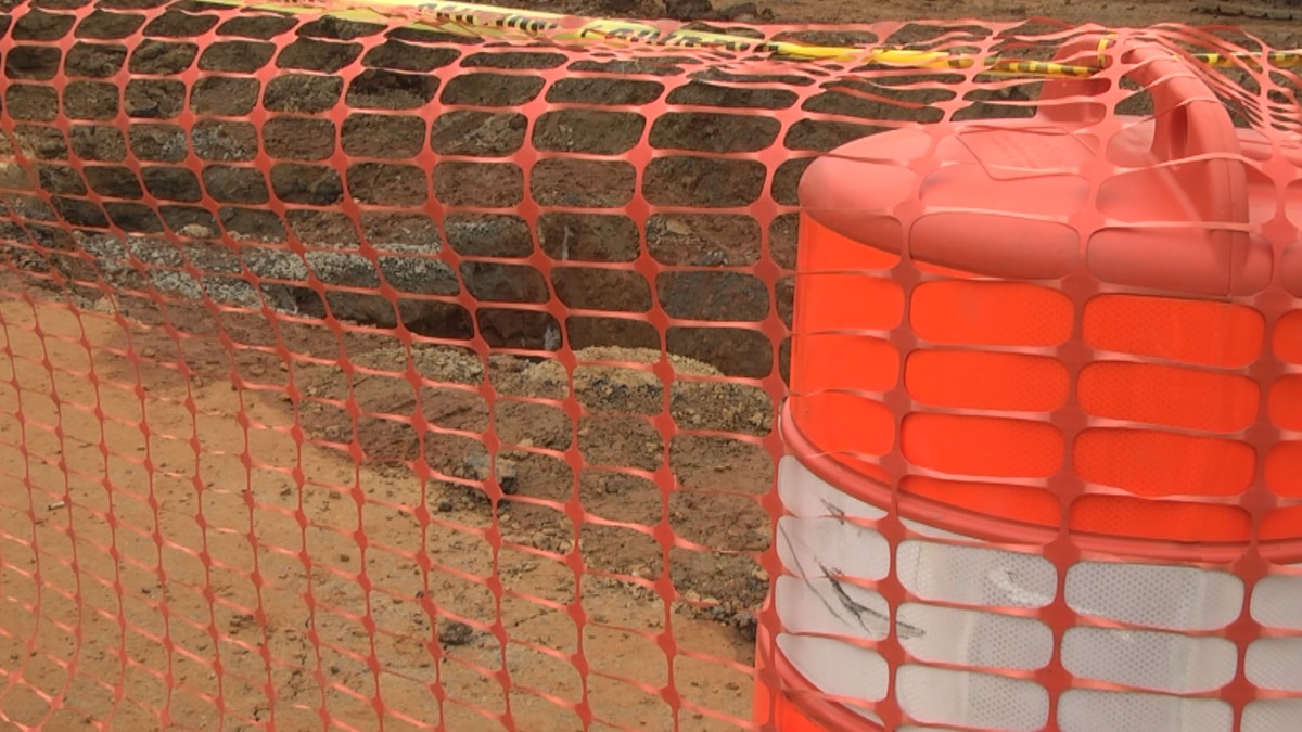 Repairs underway to fix a water main break on Camelot drive in Albemarle County.