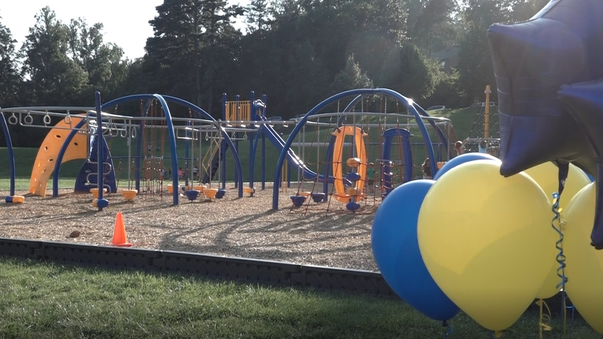 Walker Upper Elementary's Playground Ready for the 1st Day of School