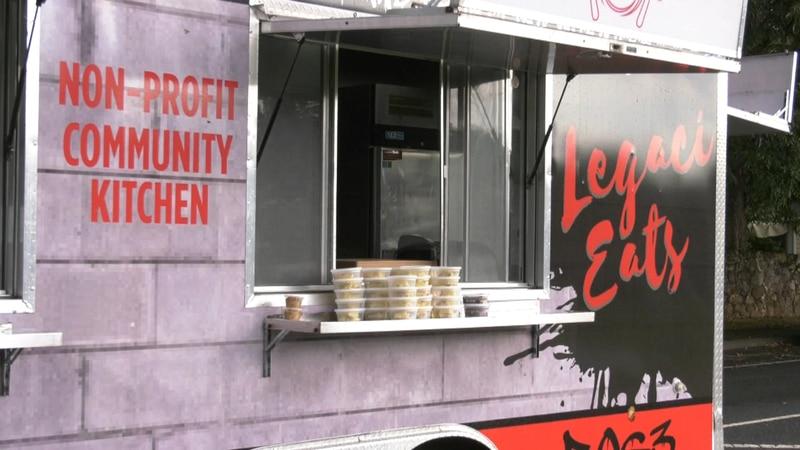 The L.E.G.A.C.I Eats food truck
