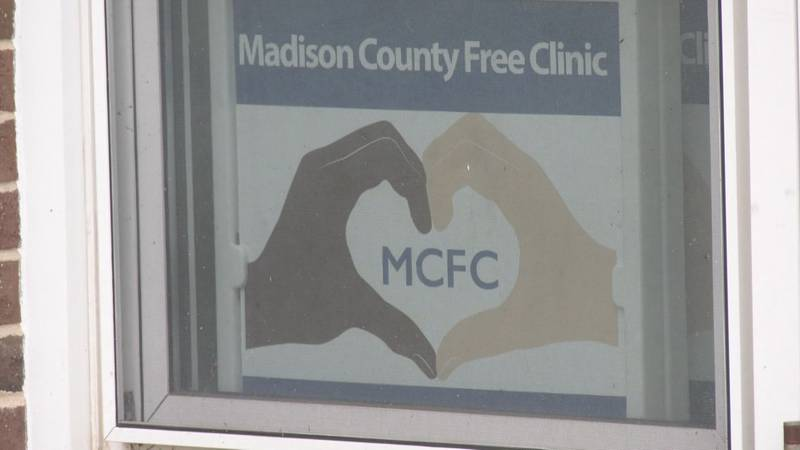 The Madison Free Clinic is one of many free clinics in Virginia seeing an increase in patients...