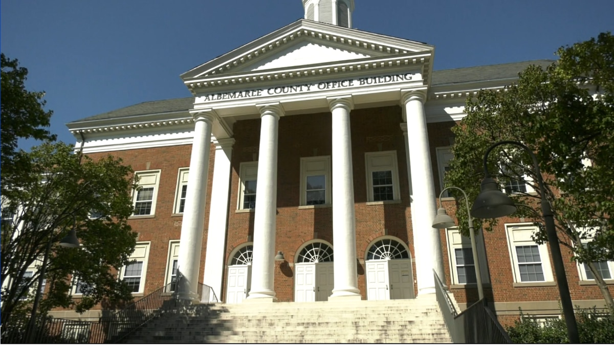 The Albemarle County Office Building.