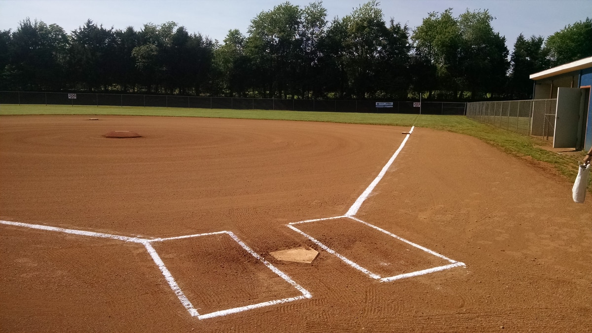A field at Booster Park in Orange County.