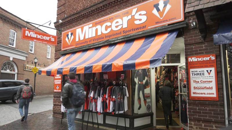Mincer's in Charlottesville