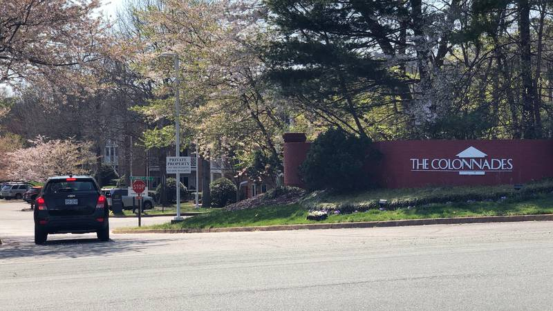 The Colonnades is a senior living facility in Charlottesville.