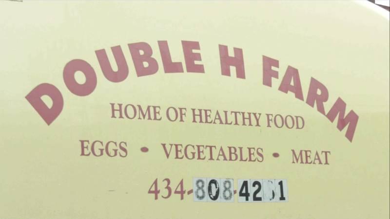 The Double H Farm Van in Charlottesville.