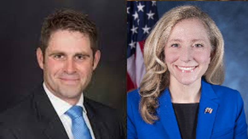 Nick Freitas (left) and Abigail Spanberger (right) are running for Virginia's 7th District...